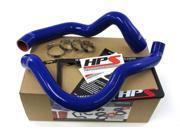 Jeep 91-01 Cherokee XJ 4.0L HPS Blue High Temp Reinforced Silicone Radiator Hose Kit Coolant