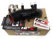 Toyota 86-92 Supra 7MGTE Turbo HPS Black High Temp Reinforced Silicone Post MAF Air Intake Hose Kit