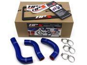 Mazda 94-97 Miata HPS Blue High Temp Reinforced Silicone Radiator Hose Kit Coolant