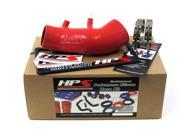 Honda 06-11 Civic Si HPS Red High Temp Reinforced Silicone Post MAF Air Intake Hose Kit