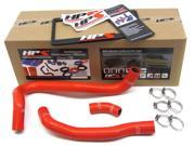 Honda 06-11 Civic Si HPS Red High Temp Reinforced Silicone Radiator Hose Kit Coolant