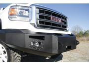 Fab Fours GS14-H3151-1 Winch Bumper&#59; 2 Stage Black Powder Coated&#59; Front&#59; w/o Grill Guard&#59; Incl. 90mm