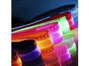 OxGord LED Light Up Night Safety Dog Collar