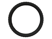 New SILICONE Black Steering Wheel Cover by Cameleon with Negative Ion Technology! Best Ergonomic Grip!