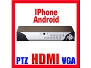 GW 16 Channel DVR (2TB) CIF Real Time Recording + Playback Motion Detective HDMI & VGA iPhone Android Viewable Stand Alone DVR CCTV Surveillance Security Camera Video Recorder