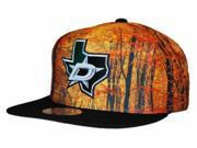 Dallas Stars Mitchell & Ness Orange Foliage Structured Snapback Hat Cap