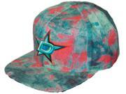 Dallas Stars Mitchell & Ness Tie-Dye Structured Flat Bill Snapback Hat Cap