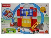 Fisher-Price Little People Builders Fire Station