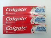 Colgate Kid Cavity Protection Fluoride Toothpaste Bubble Fruit (3 Pack)
