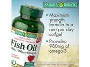 Nature's Bounty Fish Oil 1,400 mg., 130 Softgels