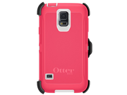 Otterbox Defender Series case cover for Samsung S5 SV 9600 - Red/White