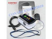 CONTEC 2015 NEW CMS5E Fingertip Pulse Oximeter,OLED Display+Free Software,CE/FDA