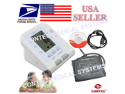 USA Warehouse Delievery.CONTEC08C Digital Blood Pressure Monior+Adult Cuff+USB+Software,Simple operation,low energy consumption, CE/FDA