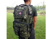 Camouflage Large Men Outdoor Camping Bag Military Tactical Backpack Hiking Trekking Rucksacks