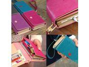 Envelope Card Wallet Leather Purse Case Cover For Samsung Galaxy S2 S3 Iphone 4S