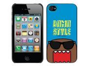 Domo Style design on a Black iPhone 4s / 4 Thinshield Snap-On Case by Coveroo