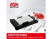 Agestar 2.5 USB3.0 SATA Mobile rack,used on the front slot.USB 3.0 HDD enclosure,HDD external mobile rack