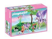 PLAYMOBIL Fairies - Crystal Palace - Royal Children with Pegasus and Baby - 5478