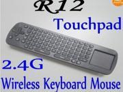 RC12 Air mouse Mini Portable 2.4ghz Wireless Fly Air Mouse Keyboard for Mini Pc Google Android Tv Box