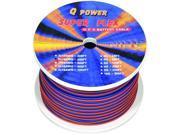 Q Power 10SP150 150' Foot 10 Gauge Super Flex Speaker Wire