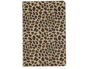 Apexel Quality New Leopard Pattern PU & Plastic Leather Smart Stand Protective Folio Cover Flip Case for Apple iPad Air / iPad 5 Gold