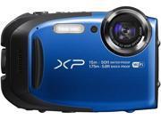 Fujifilm FinePix XP80 Waterproof Digital Camera with 2.7-Inch LCD (Blue)