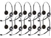 Jabra BIZ 1900 Duo (10-Pack) Stereo Corded Headset
