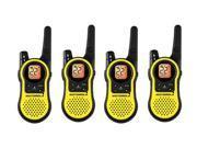 Motorola MH230R (4 Pack) Two Way Radio / Walkie Talkie