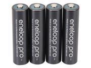 PANASONIC SPKBK3HCCA4BAB Panasonic BK-3HCCA4BA eneloop pro AA High Capacity New Ni-MH Pre-Charged Rechargeable Batteries 4 Pack