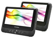 "sylvania SDVD9805B Sylvania SDVD9805 Car DVD Player - 9"" LCD - 16:9"