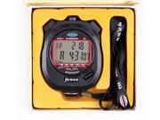Professional Stopwatch 2-Row 30 Memories Sport Stopwatch