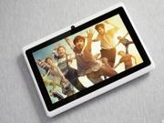 "7"" Android 4.0 Quad-Core IPS Screen Mid Tablet PC WiFi GPS White+protect case"