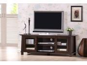 Baxton Studio Havana Brown Wood Modern TV Stand (Plasma)