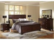 Baxton Studio Tichenor Queen 5 Piece Wooden Modern Bedroom Set