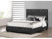 Baxton Studio Black Manchester Modern Platform Bed – Queen Size