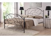 Baxton Studio  Zinnia Queen Size Tree Style Antique Bronze Metal Platform Bed