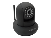Foscam FI8910W(B) wireless G/B/N Pan/tilt 120/300 dgree Day/night vision internet IP camera