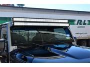 N-Fab J07350LR Modular Overhead Windshield Light Mounting System