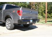 Fab Fours FF09-T1750-1 Black Steel&#59; Ranch Bumper Fits 09-14 F-150