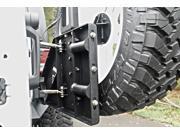 Fab Fours JP-Y1261T-1 Off The Door Tire Carrier Fits 07-14 Wrangler (JK)