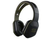 SOUL Combat+ Ultimate Active Performance Over-Ear Headphones-Army Green