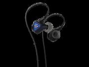 SOUL Pulse Ultra-Light Reversed Fit Earphones- Electric Blue