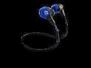 SOUL Run Free Pro Wireless Active Earphones w/ Bluetooth- Electric Blue