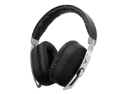 SOUL Jet Pro Hi Definition Noise Cancelling Headphones w/ Professional Cable - Deluxe Silver Edition