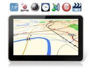 "7"" TFT LCD Screen Windows CE 6.0 GPS Navigator with Bluetooth, FM (Black)"
