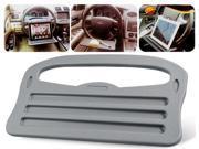SJ-188 Car Steering Wheel Table Flat Panel Desk Laptop Desk Dining Table (Gray)