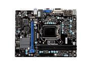 MSI H61M-P31/W8 Intel H61/LGA 1155 DDR3 Mirco ATX Motherboard for Desktop