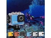 New 5.0MP Full HD 1080P waterproof 50M Sport Camera DVR Camcorder w/Wifi H264 HDMI+IR Remote , Blue