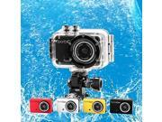 M200 Waterproof 720P 1.3 MP CMOS Action Sports Camera / Car DVR w/ TF/ Mini USB , White