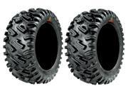 Pair of GBC Dirt Commander (8ply) ATV Tires [25x10-12] (2)